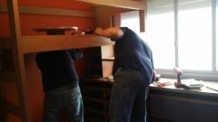 A reacomodar con el mueble a su medida