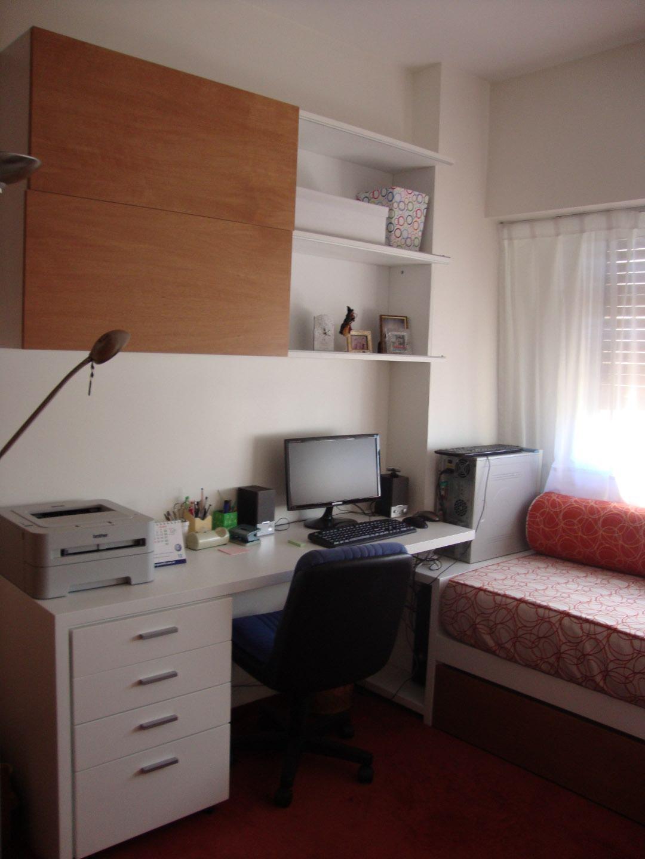 Oficina en casa y cuarto de huespedes caballito estacasa for Oficina en casa diseno